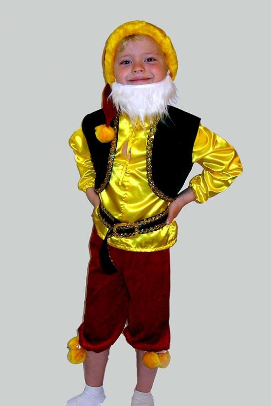 Как сделать костюм гнома для мальчика